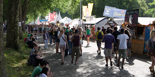 Catering - Les Ardentes 2011