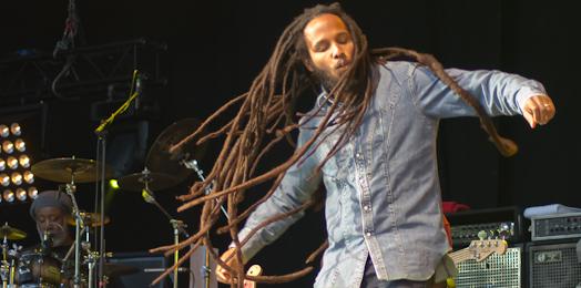 Ziggy Marley - Les Ardentes 2011